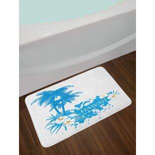 Palm Hawaiian Bath Rug