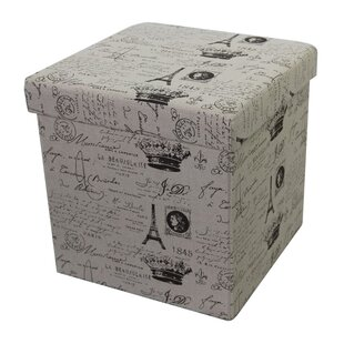 Paris Storage Ottoman by Woodl..