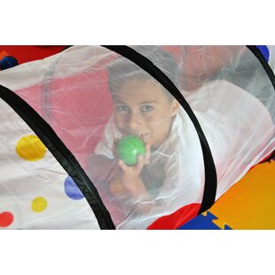 Where buy  3 Piece Polka Dot Pop-Up Play Tunnel with Carrying Bag By eWonderWorld