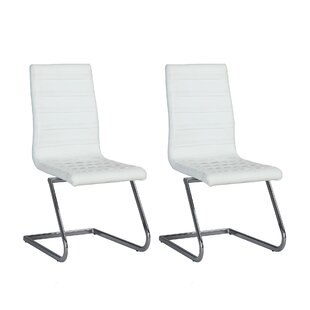 Sareah Patio Dining Chair with Cushion (Set of 2)