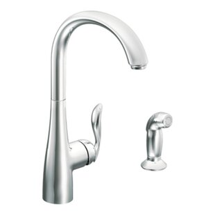 Moen Arbor Single Handle Kitchen Faucet with Side Spray