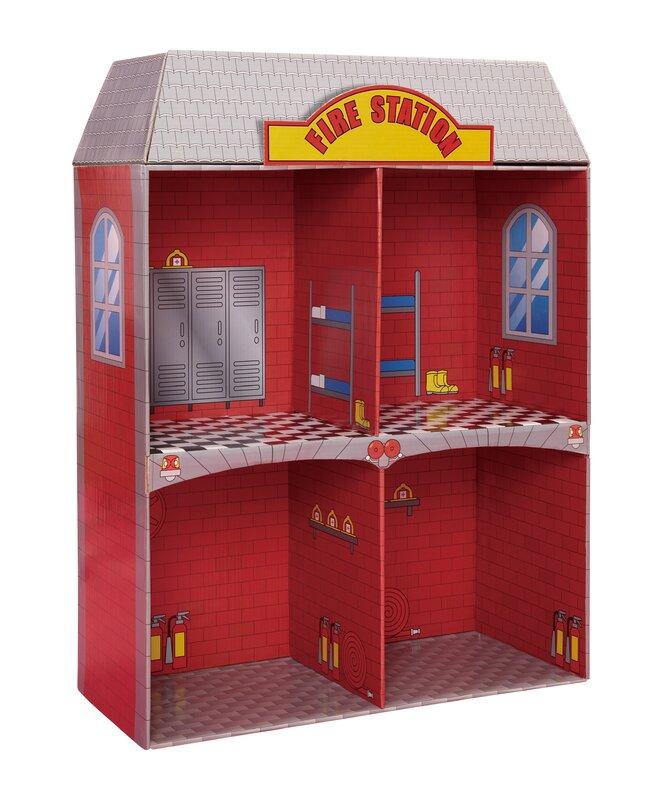 Adventure Fire Station Dollhouse