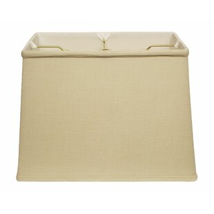 Slant Softback 14 Linen Rectangular Lamp Shade