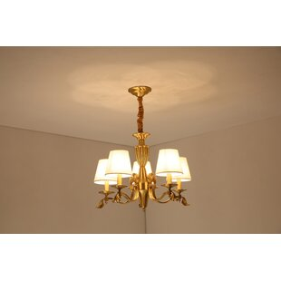 Sturtz 5-Light Shaded Chandelier by Charlton Home