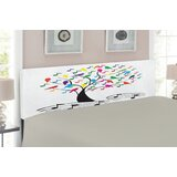 Music Upholstered Panel Headboard by East Urban Home
