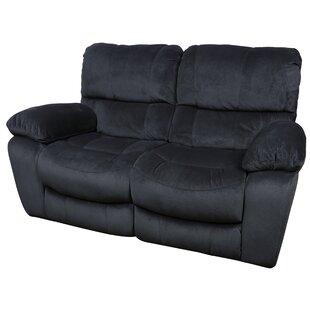 Gracehill Modern Upholstered Reclining Loveseat