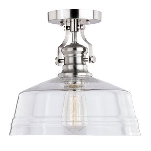 Huddleston 1-Light Semi Flush ..