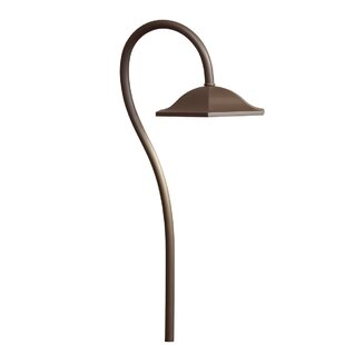 Inexpensive Shepherd's Crook 1-Light Pathway Light By Kichler