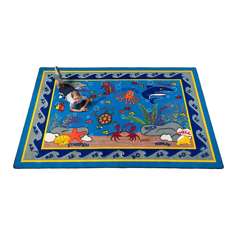 Kid Carpet Fish In The Sea Area Rug & Reviews