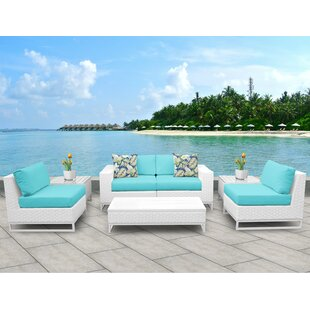 Miami 7 Piece Sofa Set with Cushions