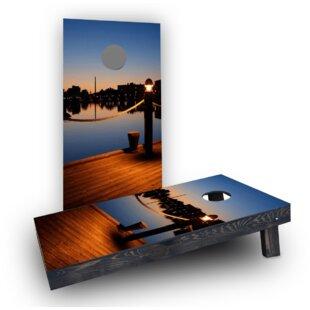 Custom Cornhole Boards Pier Cornhole Boards (Set of 2)