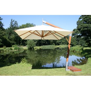 Bambrella Levante 8.5' x 11.5' Rectangular Cantilever Umbrella