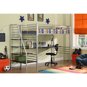 Kids Beds With Desk Bunk Beds & Loft Beds With Desks  Wayfair