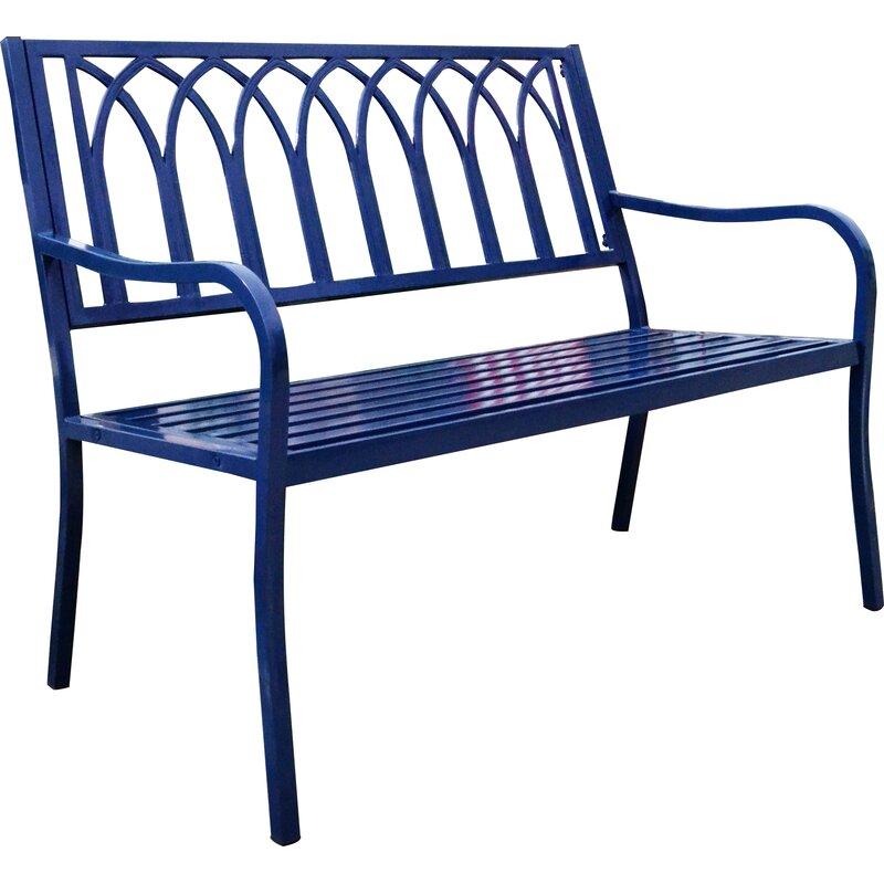 blankenship steel garden bench - Garden Bench