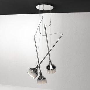 Beamer 5-Light Cluster Pendant by Leucos