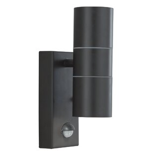 Lauderhill 2 Light Outdoor Sconce With Motion Sensor Image