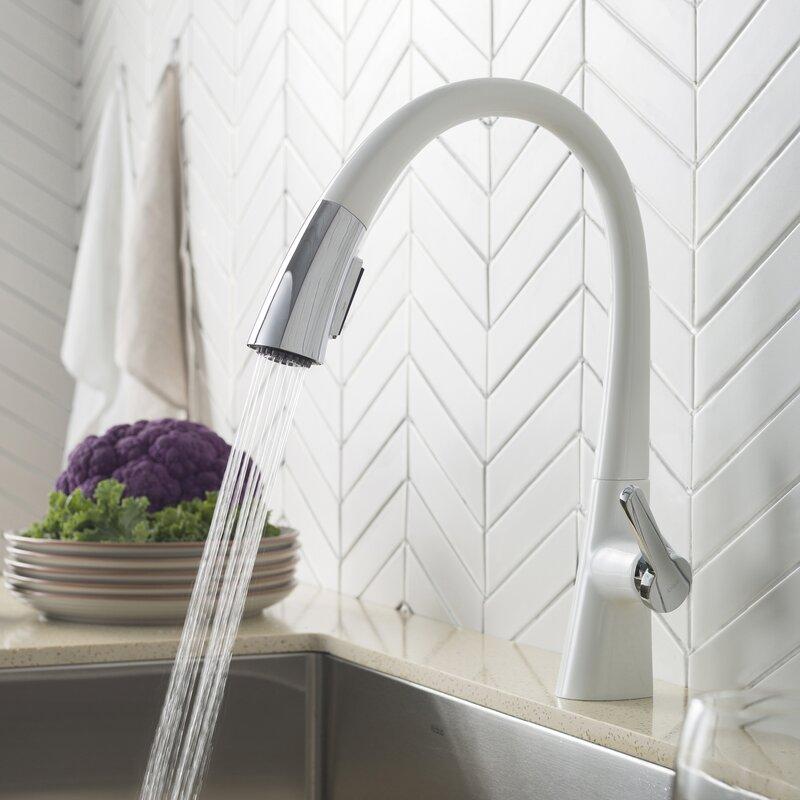 Kraus Nolen™ Pull Down Single Handle Kitchen Faucet