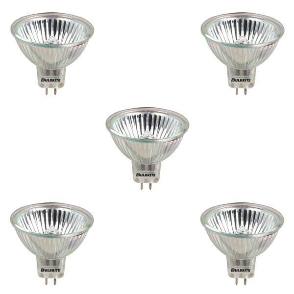 Bulbrite Industries 50 Watt Mr16 Halogen Dimmable Light Bulb 2900k Gu5 3 Bi Pin Base Wayfair