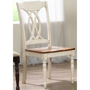 Iconic Furniture Transitional Solid Wood Dining Chair (Set of 2)