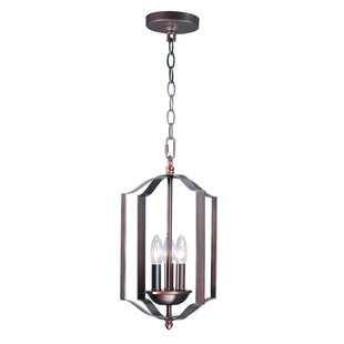 Wrought Studio Mielke 3-Light Lantern Pendent
