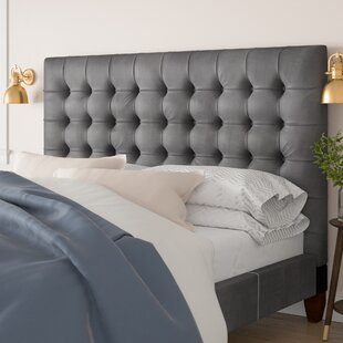 Top Randy Upholstered Panel Headboard by Brayden Studio