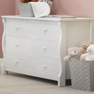 Clearance Tuscany Elite 6 Drawer Double Dresser BySorelle