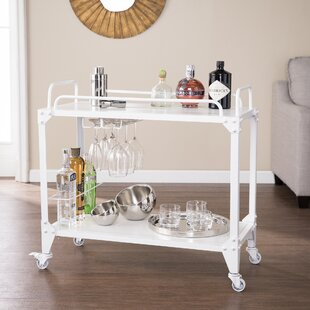 Clarence Serving Cart By August Grove