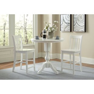 Reichel Round Top Counter Height 3 Piece Pub Table Set