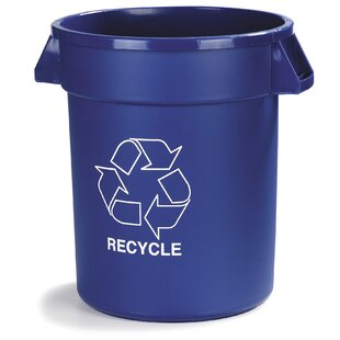 Bronco™ Curbside Trash & Recycling Bin (Set Of 4) By Carlisle Food Service Products