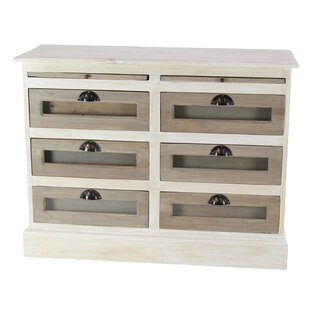 Camacho Contemporary Mahogany 6 Drawer Accent Chest by Gracie Oaks