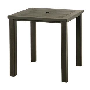 Sebrina Aluminum Bar Table by Latitude Run Best Design