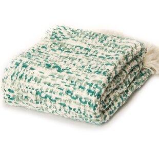 Dorney Textured Cross Knit Throw
