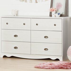 Caravell 6 Drawer Double Dresser by South Shore