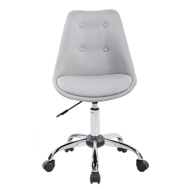 techni mobili techni mobili mid-back desk chair & reviews | wayfair - Mobili Design Tulsa