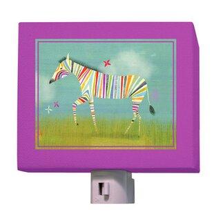 Oopsy Daisy Rainbow Zebra Night Light