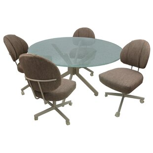 Goudeau Caster 5 Piece Dining Set