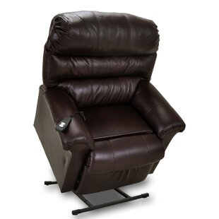 Chase Leather Power Lift Assist Recliner by Franklin