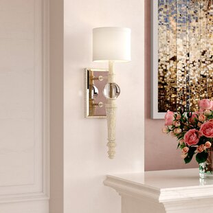 Hinshaw 1-Light Wall Sconce By House of Hampton Wall Lights