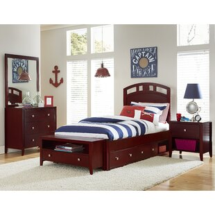 Susan Arch Platform Bed with Drawers