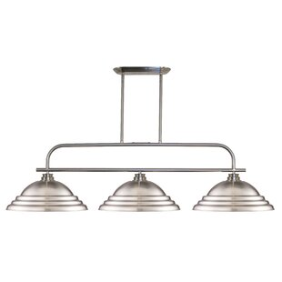 Laurel Foundry Modern Farmhouse Clayton 3-Light Pool Table Lights Pendant