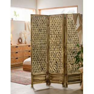 Shearer 3 Panel Room Divider by Bayou Breeze