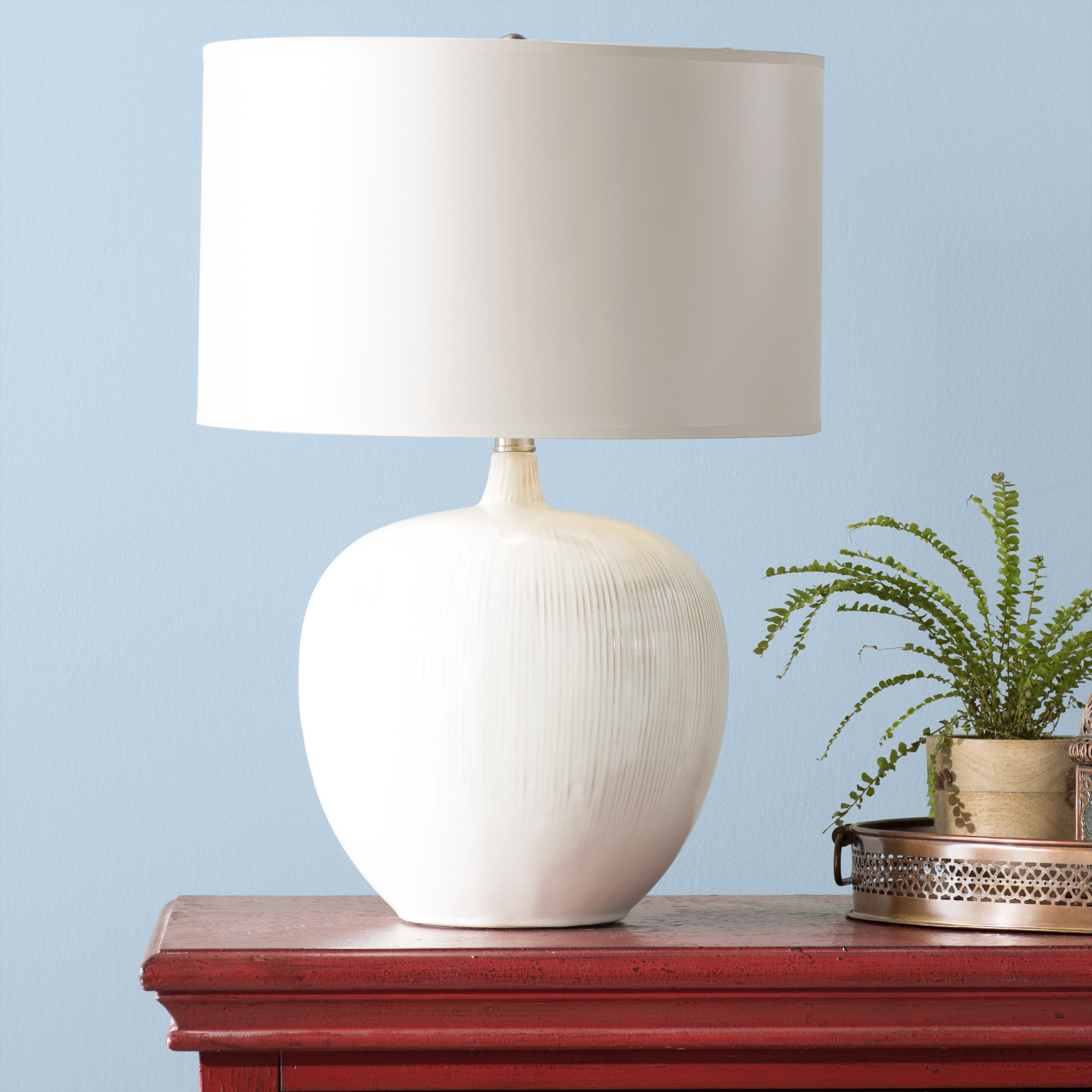 Highland Dunes Carshalt 23 25 Table Lamp Reviews Wayfair
