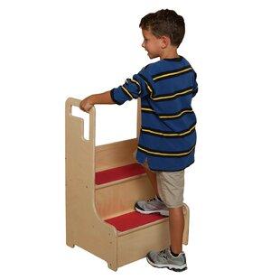 Healthy Kids Step Stool by Wood Designs