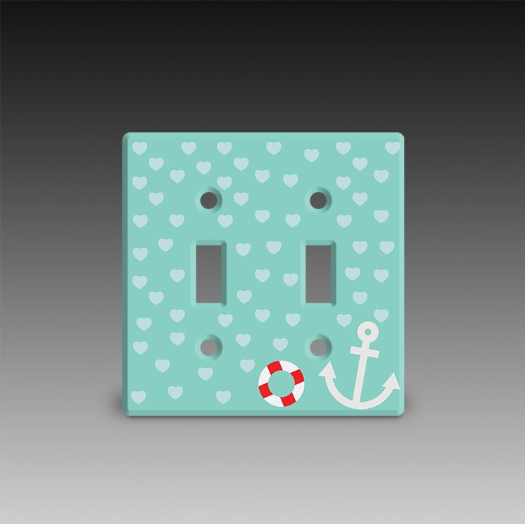 Acrylic Idea Factory Double Post Light Switch Cover Wayfair