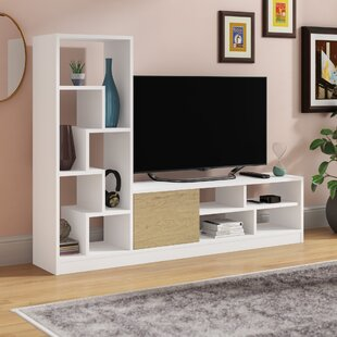Read Reviews Demetra TV Stand for TVs up to 50 by Wrought Studio Reviews (2019) & Buyer's Guide
