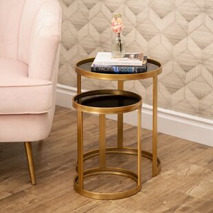 Lapidge 2 Piece Nesting Tables