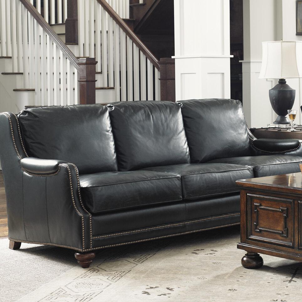 Lexington Coventry Hills Leather Sofa | Wayfair