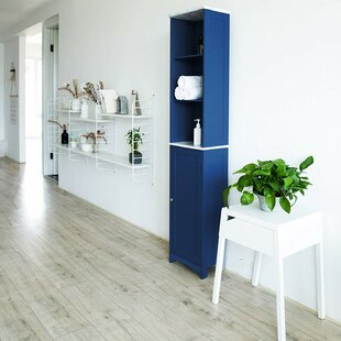 New England 34 X 166cm Free Standing Cabinet By Ebern Designs