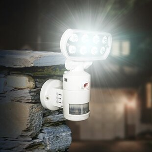 Versonel Nightwatcher Pro 1-Light LED Security Motion Recording Light with WiFi