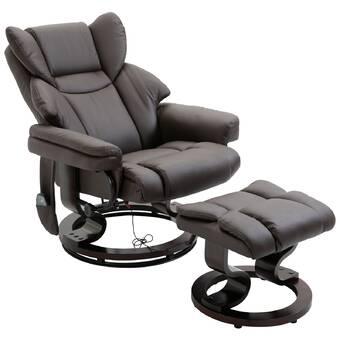 Latitude Run Abreana Reclining Massage Chair Wayfair Ca